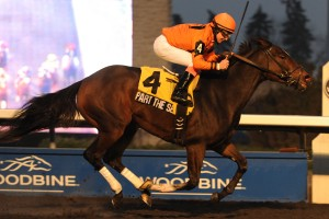Woodbine December 1 2013 R8 Bessarabian Stakes Part the Seas Jockey James McAleney WEG/michael burns photo