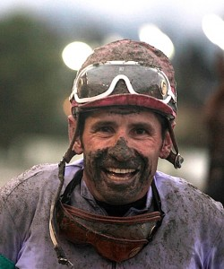 Patti Tubbs' Sovereign Award winning photo of Hastings Jockey Frank Fuentes