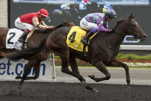 Gamble's Ghost - G3 Mazarine Stakes michael burns photo