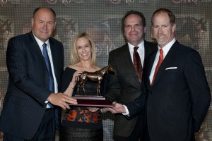 Toronto Ont.April 10, 2015.Woodbine Racetrack. 40th Sovereign Award,Outstanding Breeder Sam Son Farms, WEG/michael burns photo