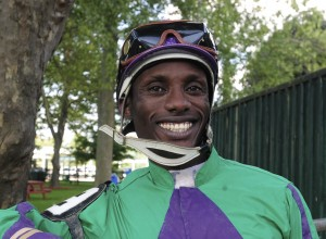 2015 Fort Erie Race Track Leading Jockey Kirk Johnson Michael Burns Photo